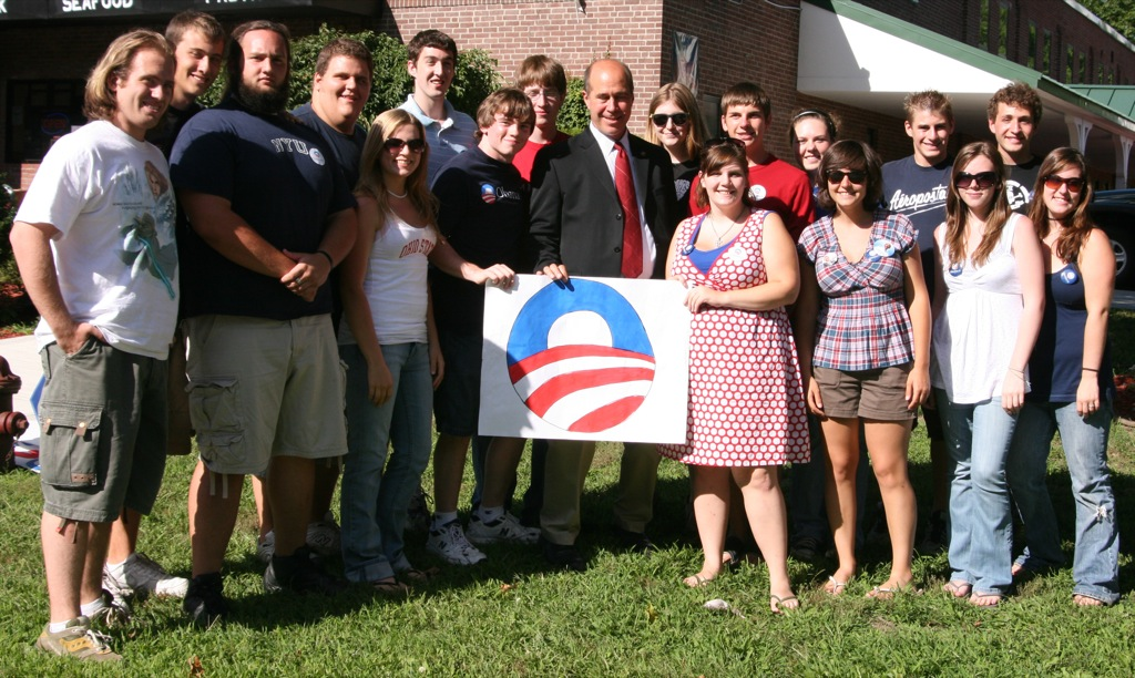 John Hall with Dover Plains for Obama